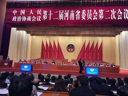 孙黎主委代表民建河南省委在省政协全会上作发言